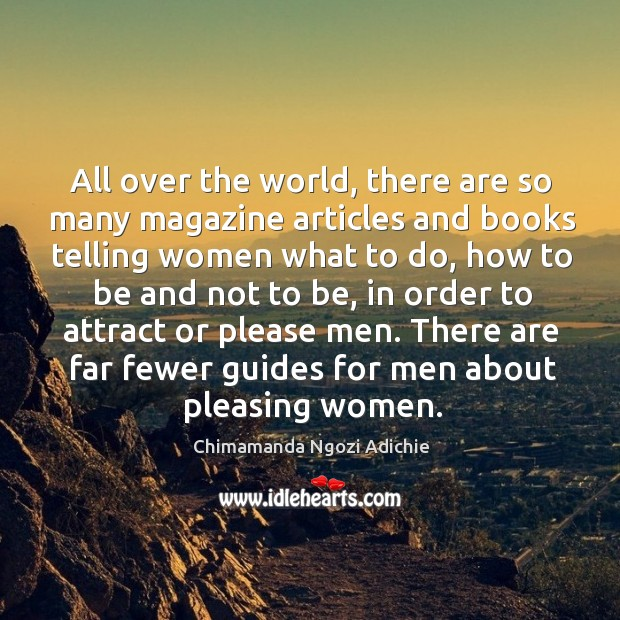 Image, All over the world, there are so many magazine articles and books