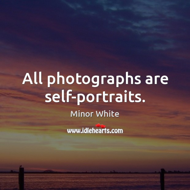 Image, All photographs are self-portraits.