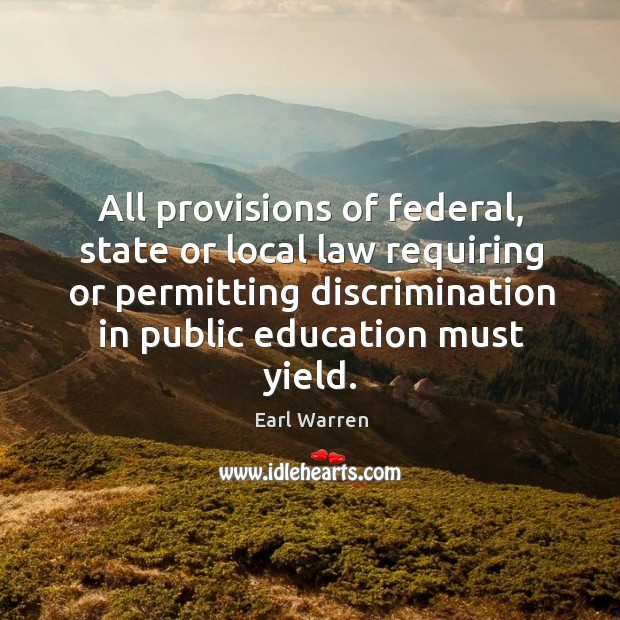 All provisions of federal, state or local law requiring or permitting discrimination in Image
