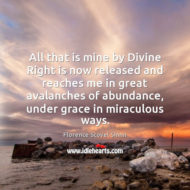 Image, All that is mine by Divine Right is now released and reaches