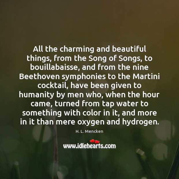 All the charming and beautiful things, from the Song of Songs, to Image