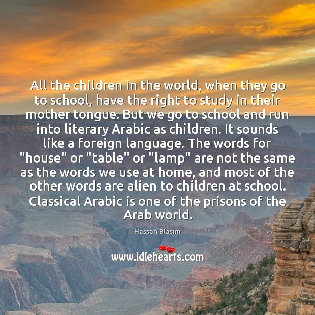 All the children in the world, when they go to school, have Image