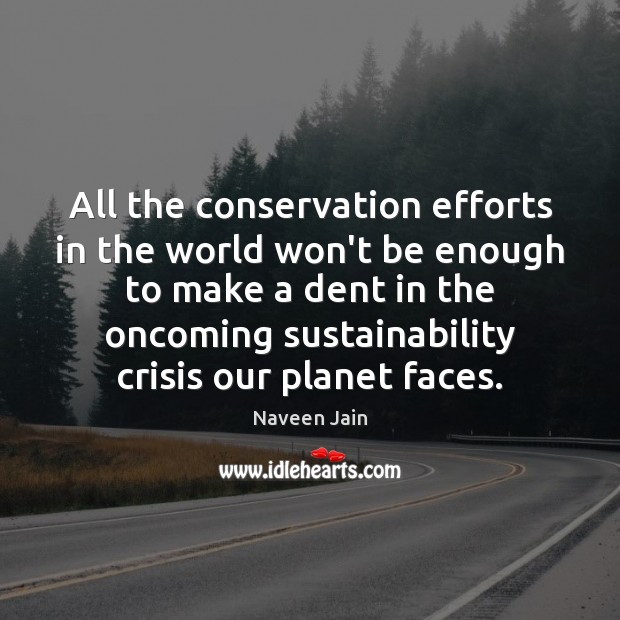for the sake of our planet
