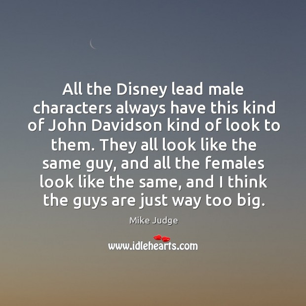 All the disney lead male characters always have this kind of john davidson kind of look to them. Image