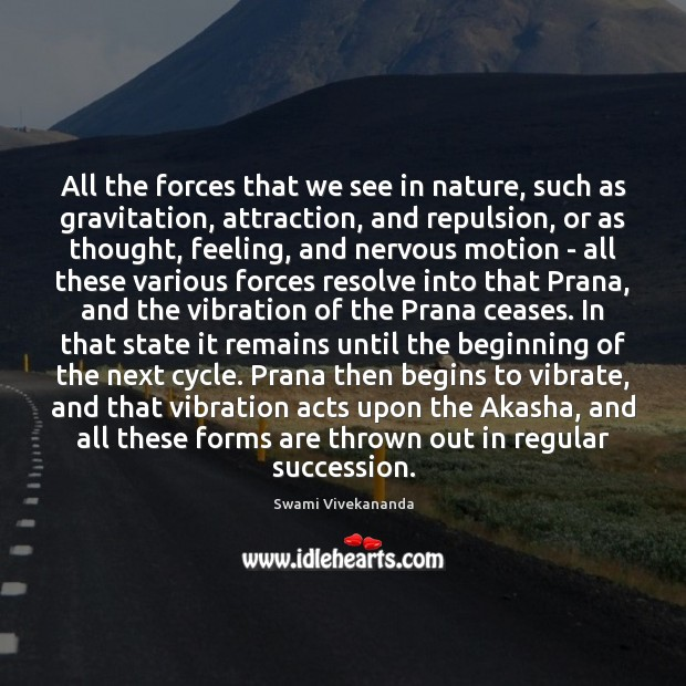 Image, All the forces that we see in nature, such as gravitation, attraction,
