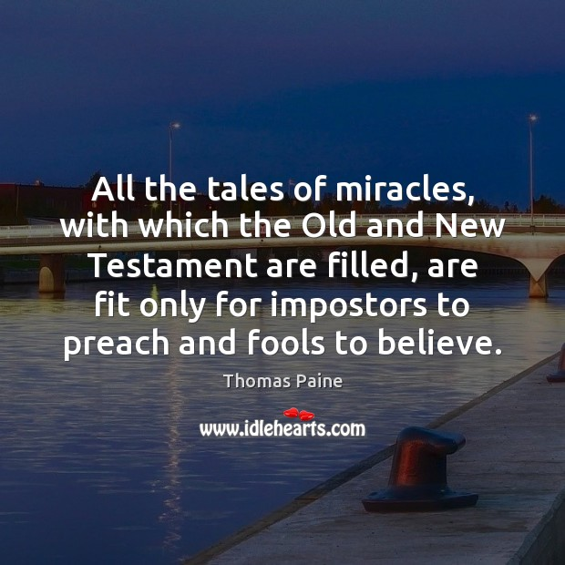 Image, All the tales of miracles, with which the Old and New Testament