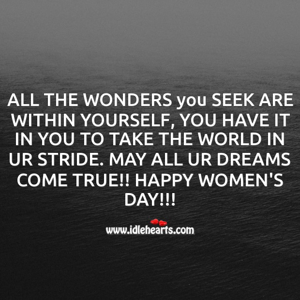 All the wonders you seek are within yourself Mother's Day Messages Image