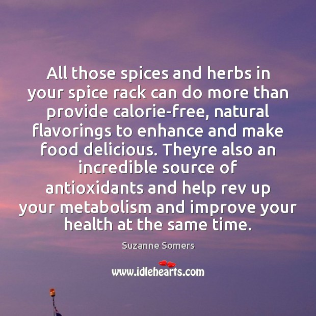 Image, All those spices and herbs in your spice rack can do more