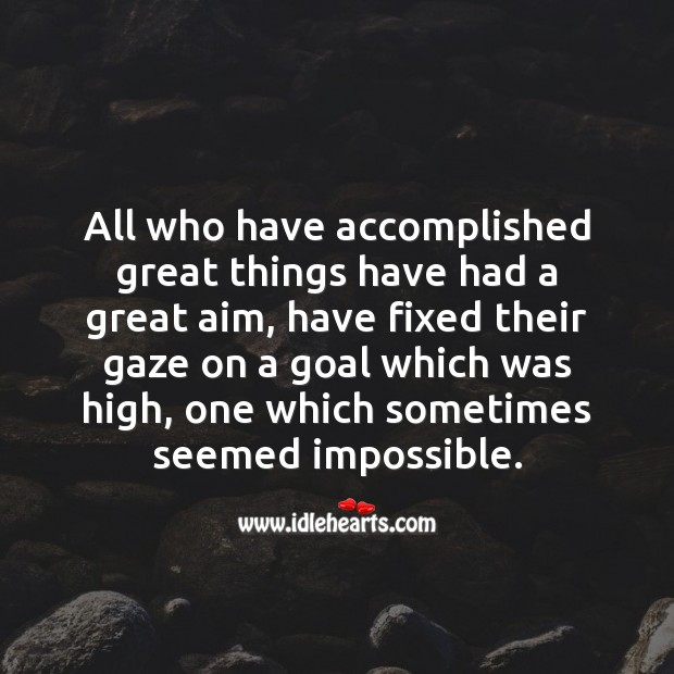 All who have accomplished great things Image
