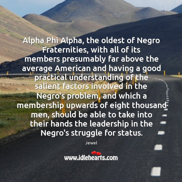 Alpha Phi Alpha, the oldest of Negro Fraternities, with all ...