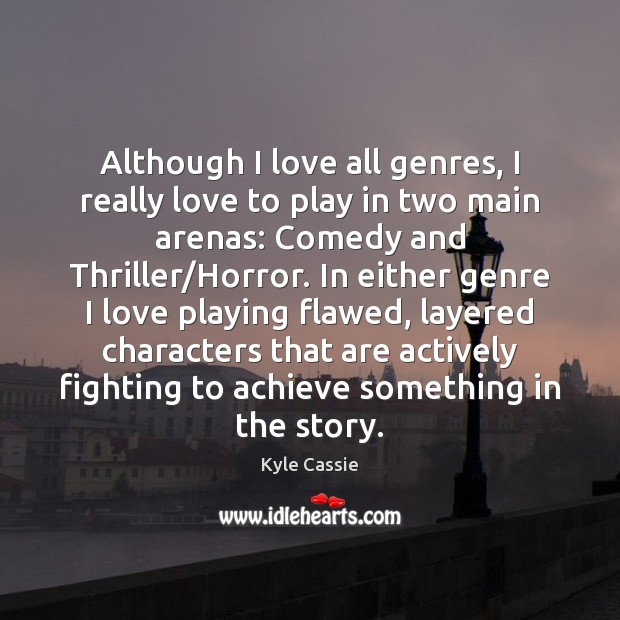 Image, Although I love all genres, I really love to play in two