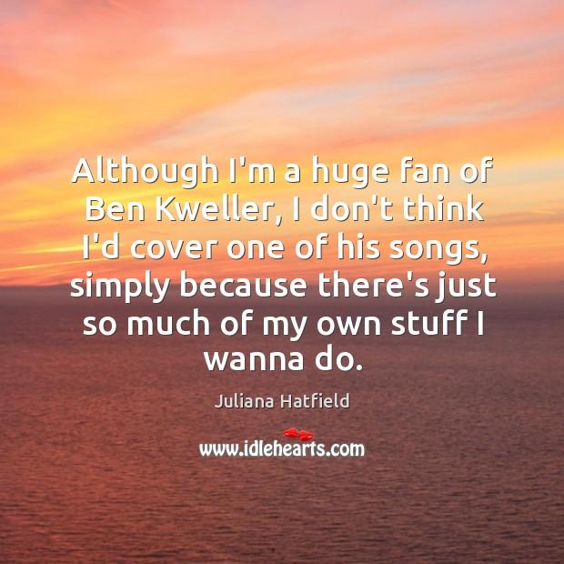 Image, Although I'm a huge fan of Ben Kweller, I don't think I'd