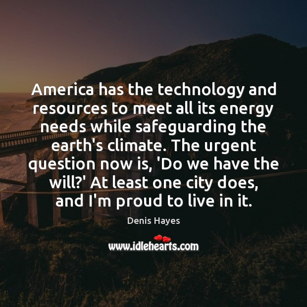 America has the technology and resources to meet all its energy needs Image