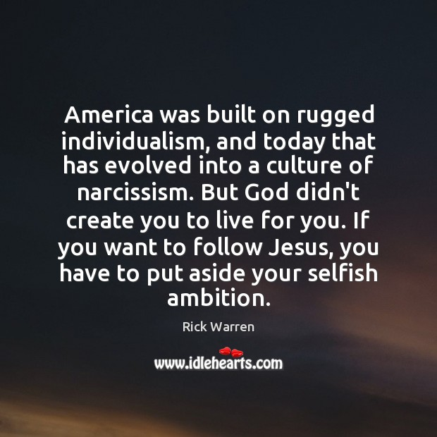 America Was Built On Rugged