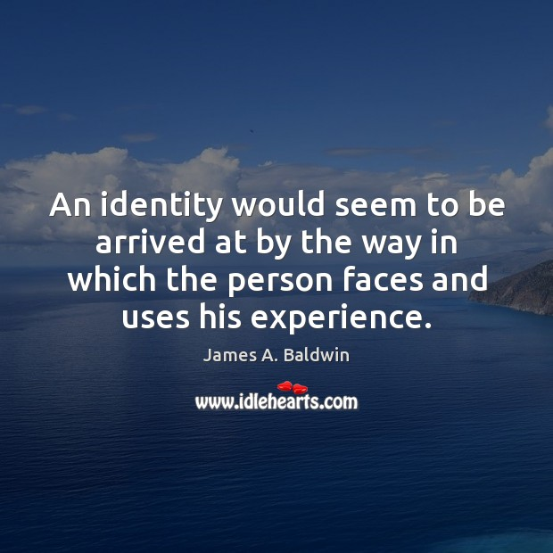 An identity would seem to be arrived at by the way in Image