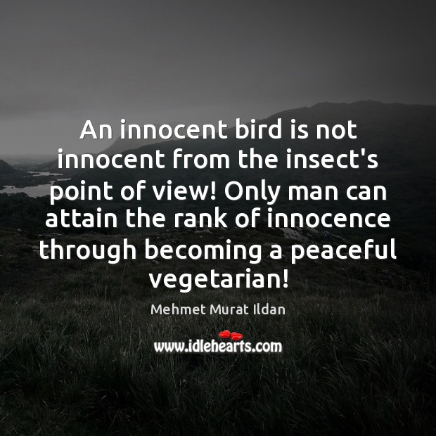 Image, An innocent bird is not innocent from the insect's point of view!