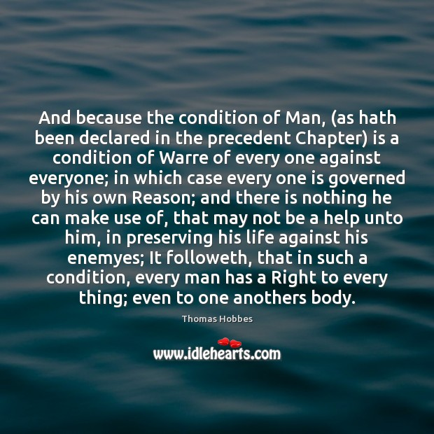 Image, And because the condition of Man, (as hath been declared in the