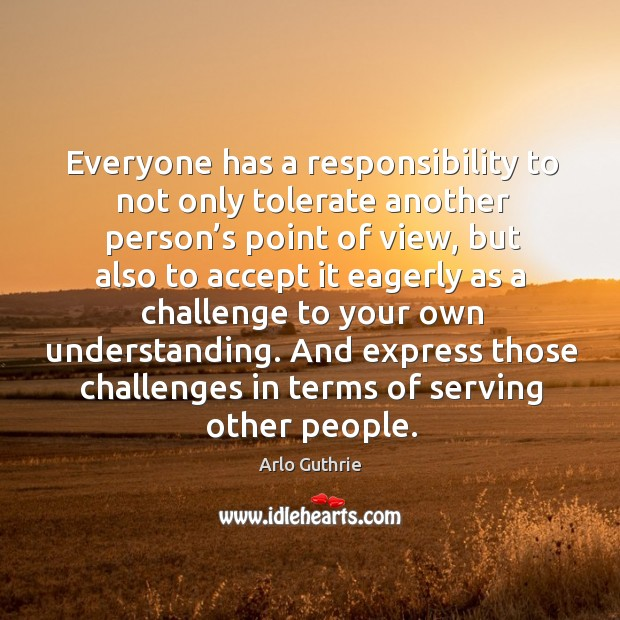 And express those challenges in terms of serving other people. Image