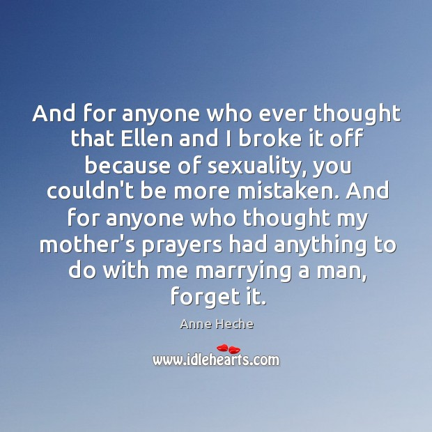 And for anyone who ever thought that Ellen and I broke it Image