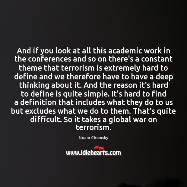 And if you look at all this academic work in the conferences Image