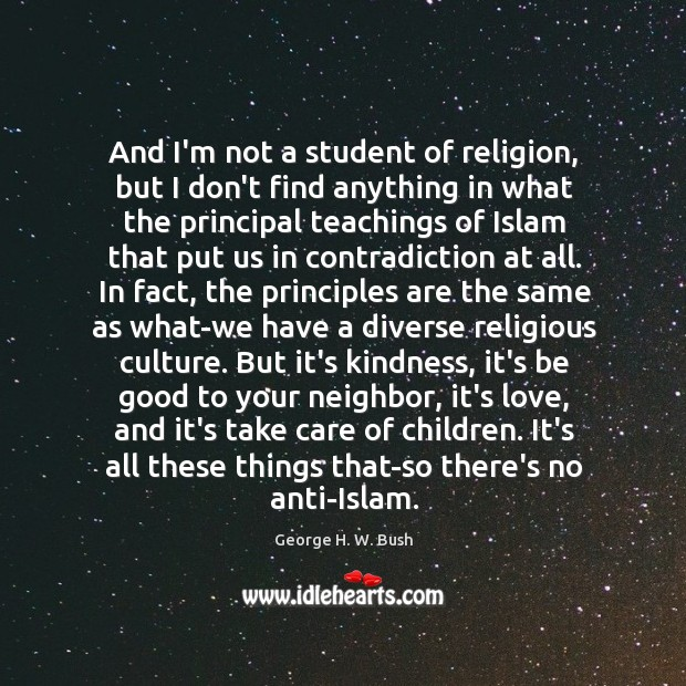 Image, And I'm not a student of religion, but I don't find anything