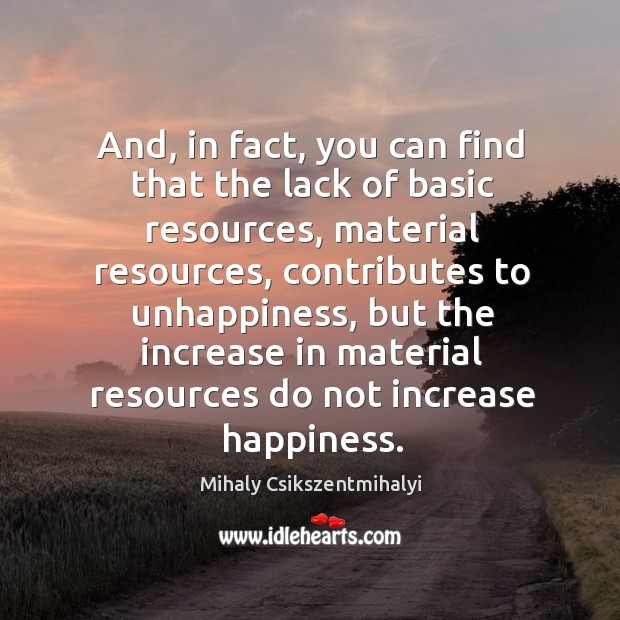 Image, And, in fact, you can find that the lack of basic resources, material resources