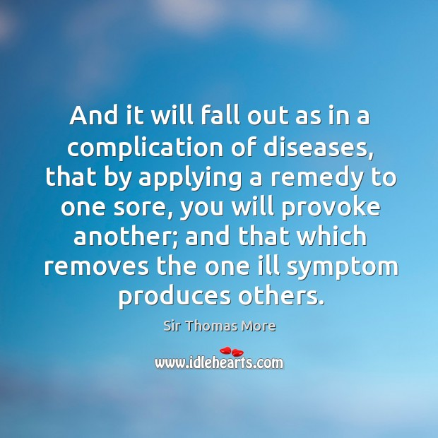 And it will fall out as in a complication of diseases Image