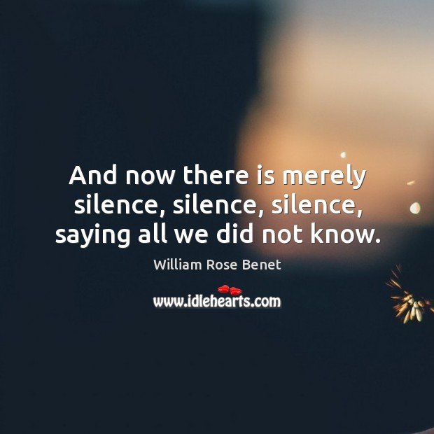 Picture Quote by William Rose Benet