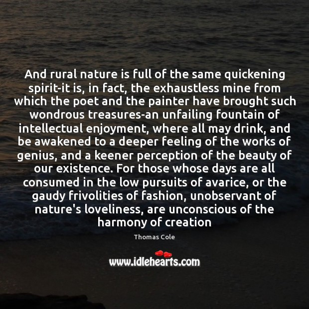Image, And rural nature is full of the same quickening spirit-it is, in