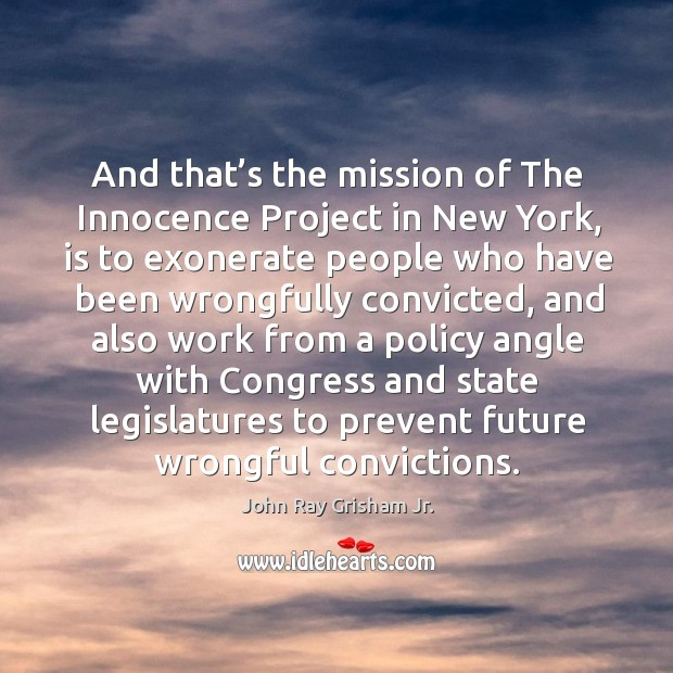 innocence project new york View karen thompson's profile on innocence project location greater new york city area researched and wrote legal briefs submitted in new york supreme.