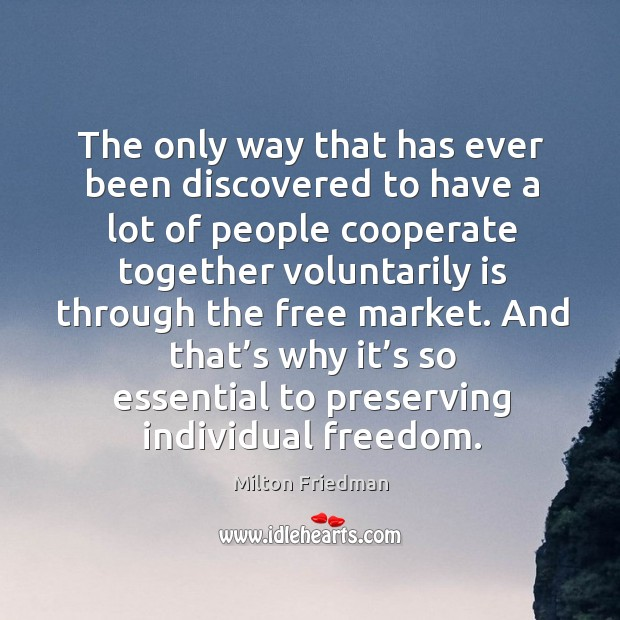 Image, And that's why it's so essential to preserving individual freedom.