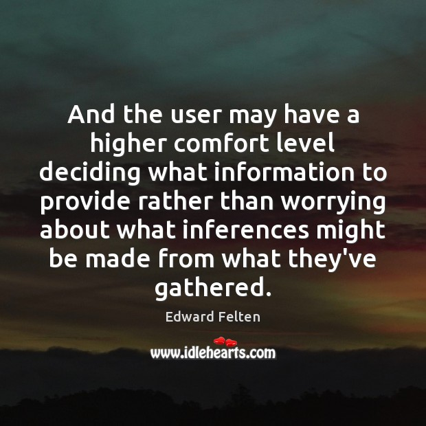 Picture Quote by Edward Felten