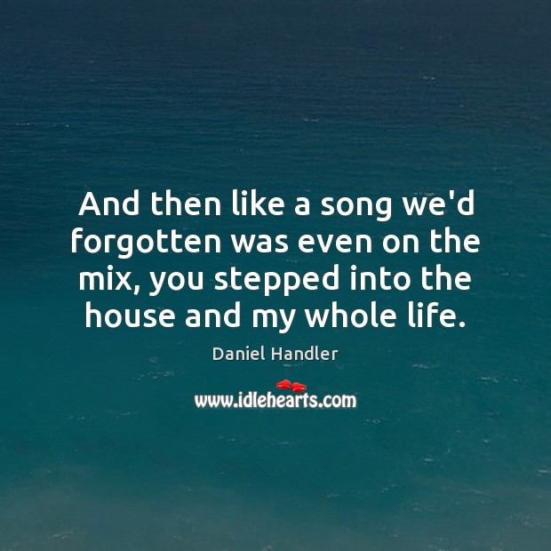 And then like a song we'd forgotten was even on the mix, Image