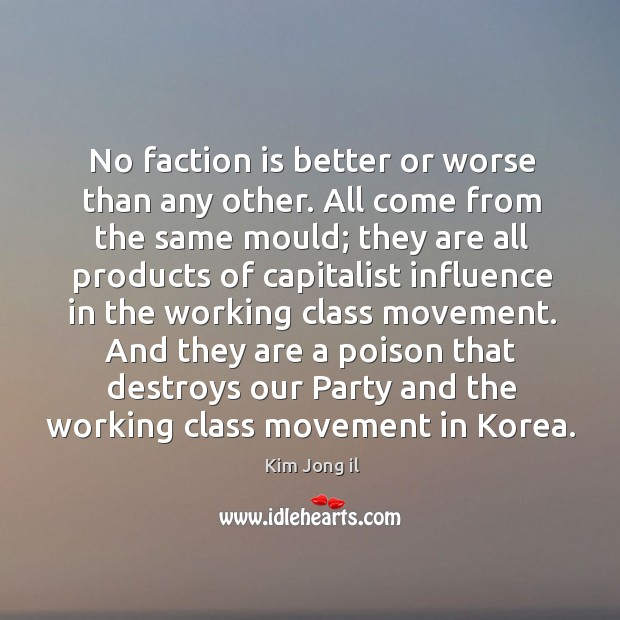 And they are a poison that destroys our party and the working class movement in korea. Image