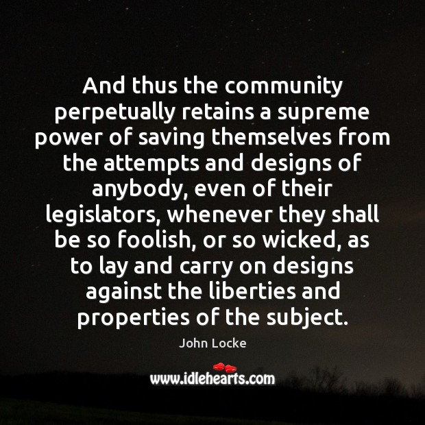 Image, And thus the community perpetually retains a supreme power of saving themselves
