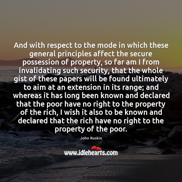 Image, Affect, Aim, Also, Am, Been, Declared, Extension, Extensions, Far, Found, General, Gist, I Wish, Known, Long, Mode, Paper, Papers, Poor, Possession, Principles, Property, Range, Respect, Rich, Right, Secure, Security, The Rich, These, Ultimately, Whereas, Which, Whole, Will, Wish, With
