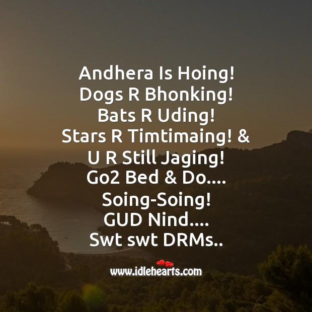 Image, Andhera is hoing