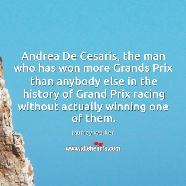 Andrea De Cesaris, the man who has won more Grands Prix than Image