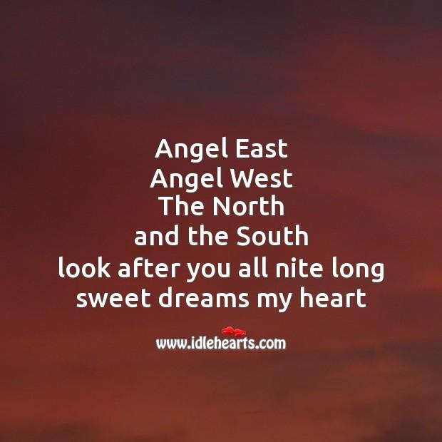 Image, Angel east angel west