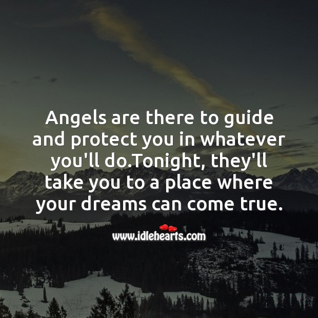 Angels are there to guide and protect Image