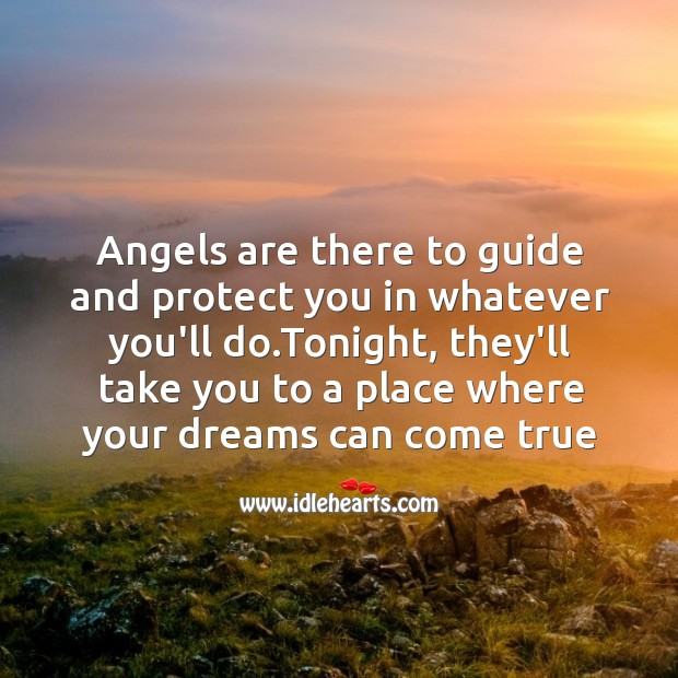 Angels are there to guide Image