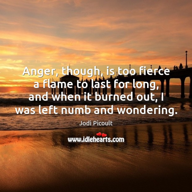 Anger, though, is too fierce a flame to last for long, and Image