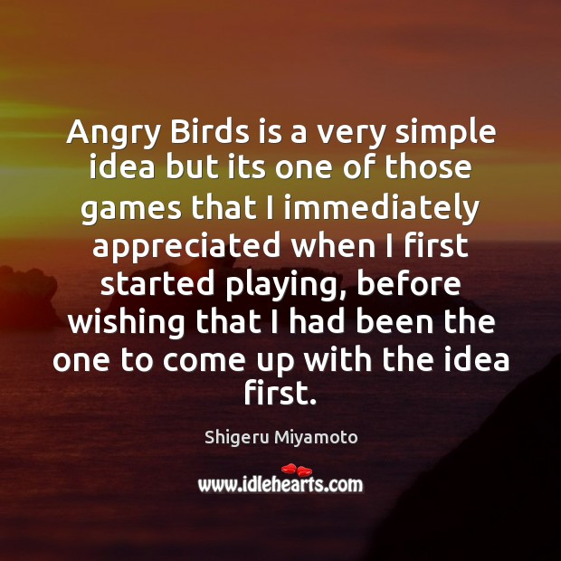 Image, Angry Birds is a very simple idea but its one of those