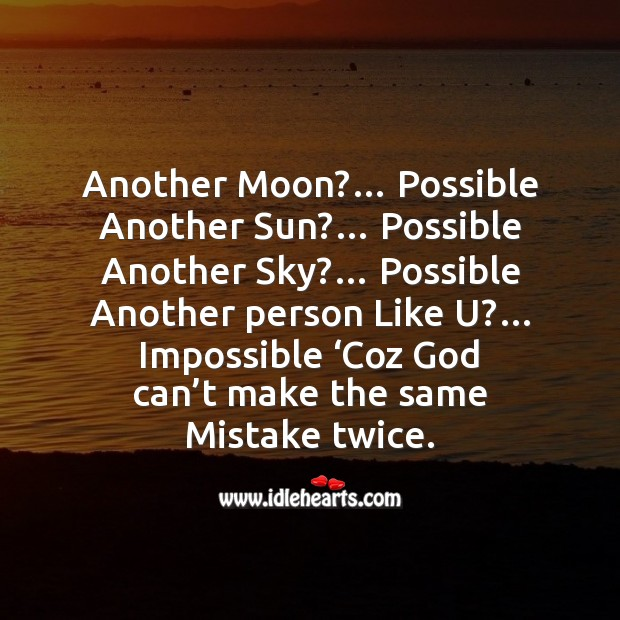 Another moon?… possible another sun? Funny Messages Image