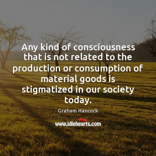Image, Any kind of consciousness that is not related to the production or