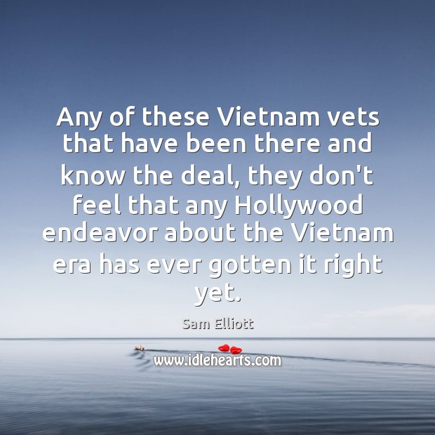 Image, Any of these Vietnam vets that have been there and know the