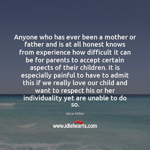 Image, Anyone who has ever been a mother or father and is at