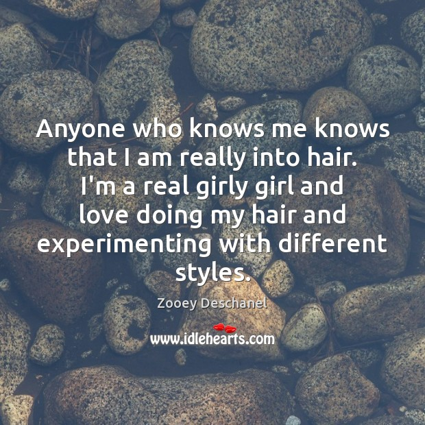 Anyone who knows me knows that I am really into hair. I'm Image