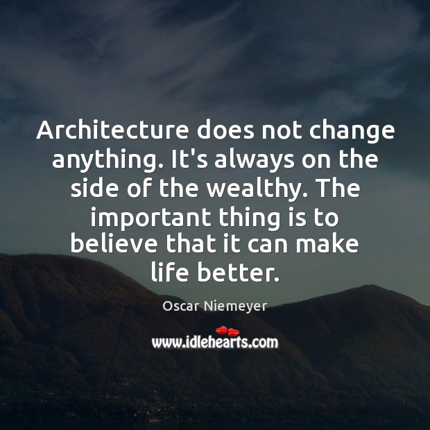 Architecture does not change anything. It's always on the side of the Image