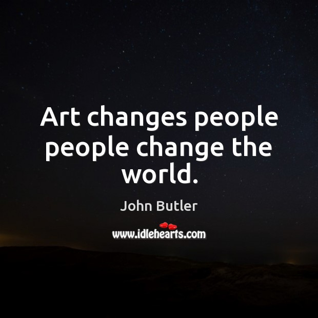 can art change the way we